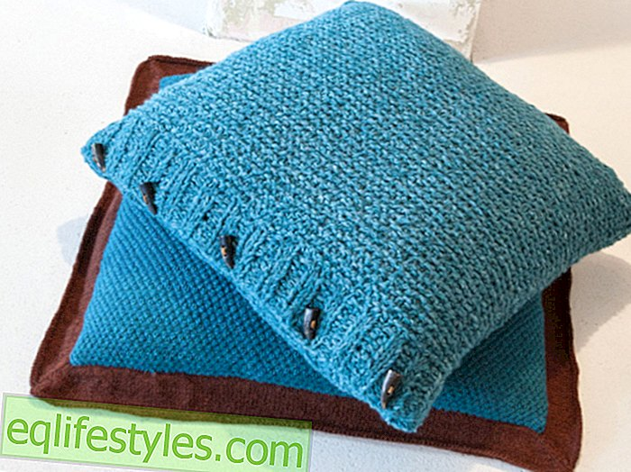 Fashion - Knitting PatternThis pretty pillow you can easily knit yourself
