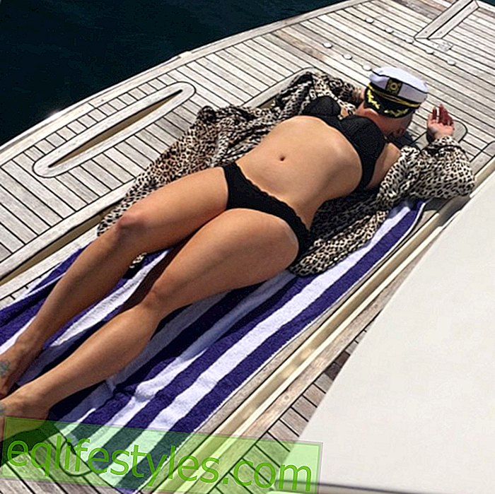 Kelly Osbourne shows bikini figure