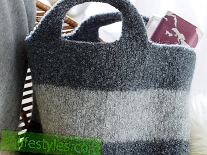 How to knit How to knit a practical bag