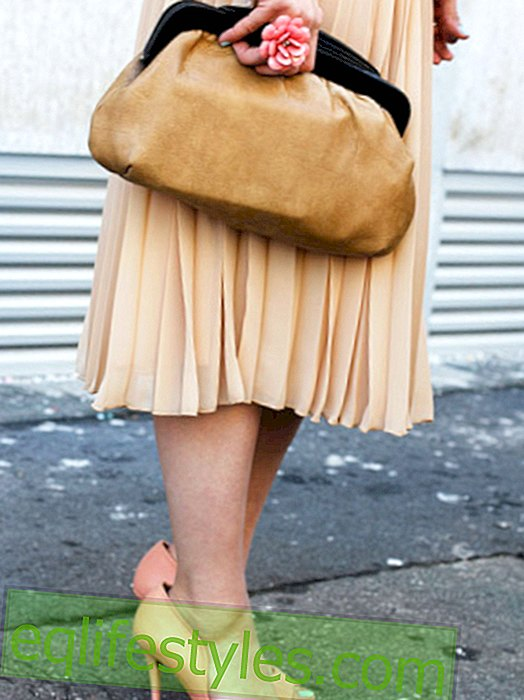 Fashion - Pleated Looks: We love wrinkles!