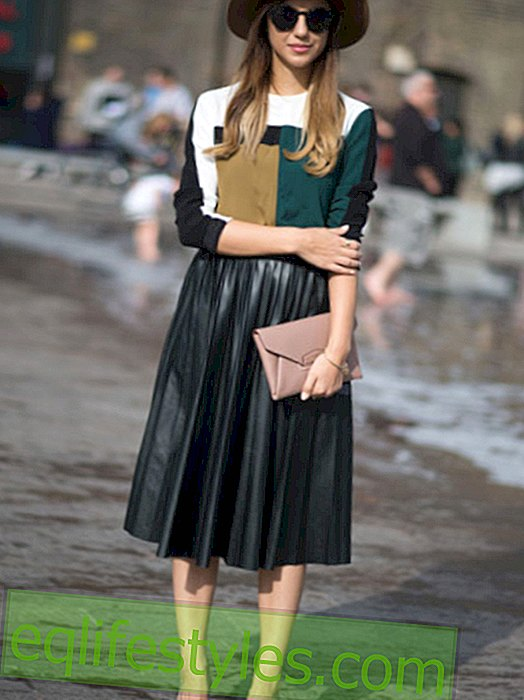 Midi skirts: That's what styling is all about