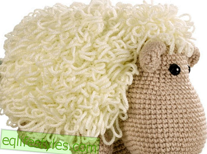 Strickanleitung Kuscheltier knitting: Wooly sheep to knit