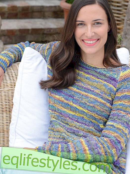 Fashion - Make your own sweater with a pattern pattern