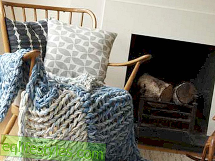 Knitting PatternSweater Knit with 'Armstricken': How to knit a blanket for your sofa