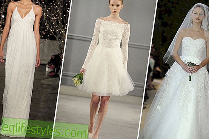 Wedding dresses 2014: These are the trends