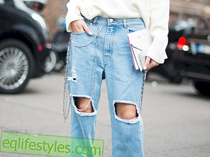 Shred Jeans Jeans Trend: We now wear Destroyed Jeans like this