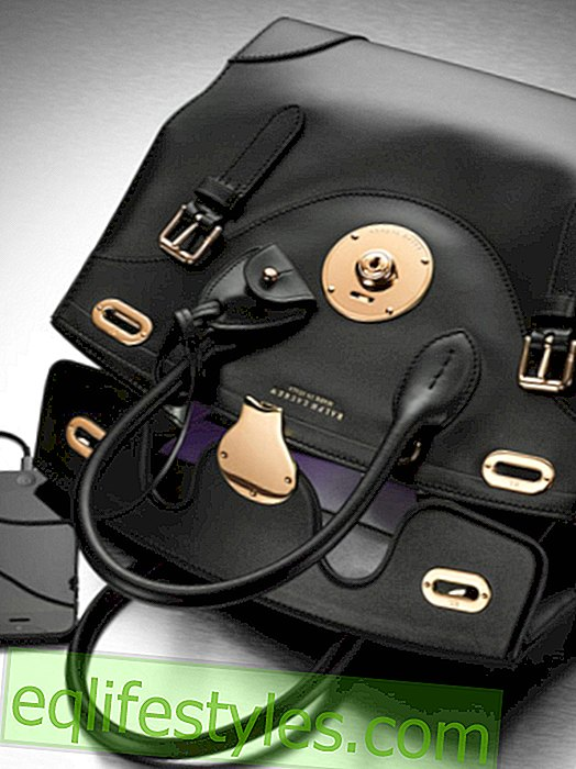 Ralph Lauren launches Ricky Bag with light and cell phone charger
