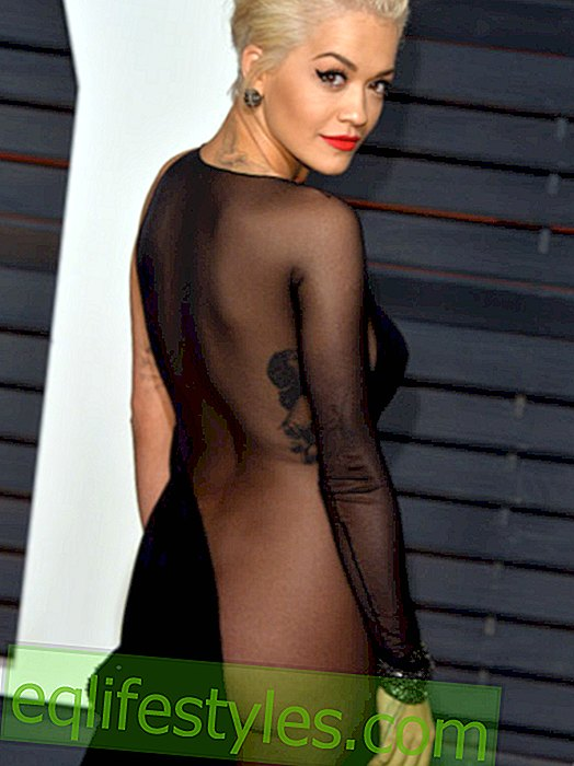 Fashion - Side-Butt: The new nude dresses of the stars
