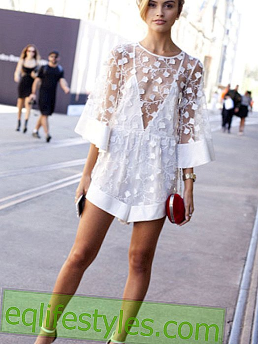 Fashion - Trend color: In summer we see white