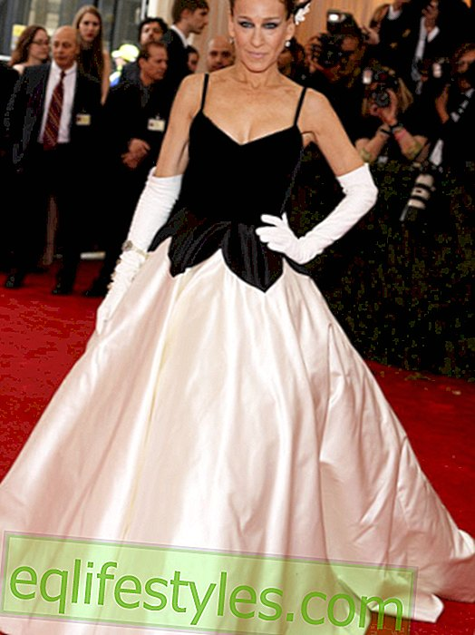Fashion - Black & White is the fashion trend of the Met Gala 2014