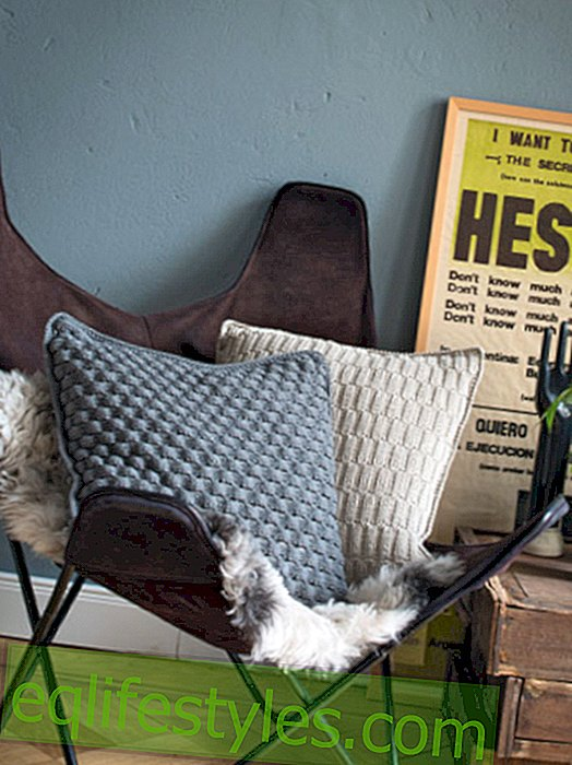Fashion: It's so easy to knit a cushion cover
