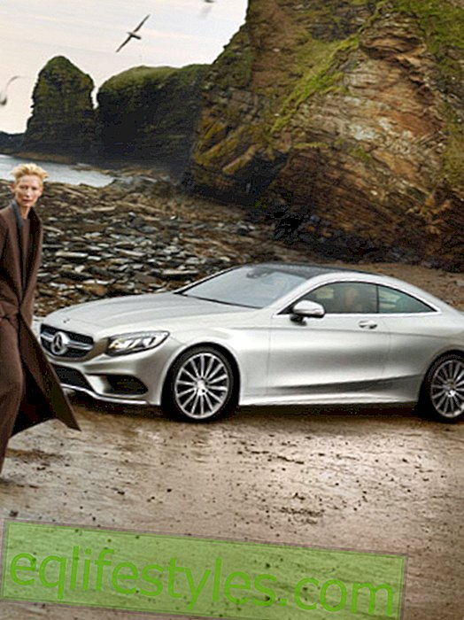 mote - Tilda Swinton for Mercedes-Benz Fashion Week Berlin