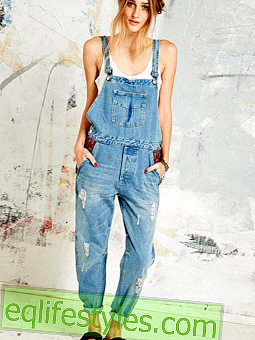 Fashion: Dungarees: styling tips for the trend jeans, 2014