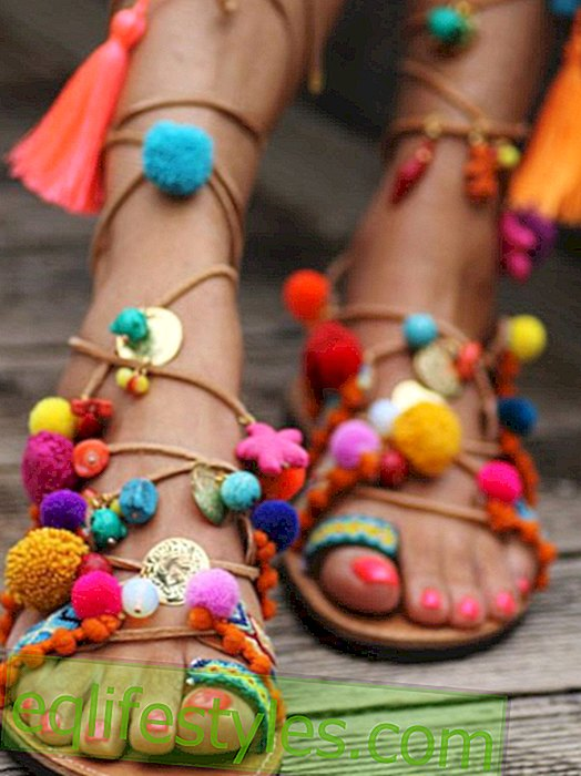The most beautiful sandals of summer