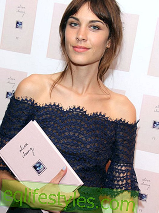 "Fashion - Style icon Alexa Chung publishes book ""It"