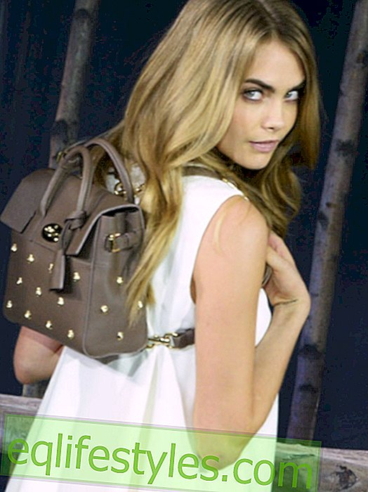 Cara Delevingne: bag collection for Mulberry