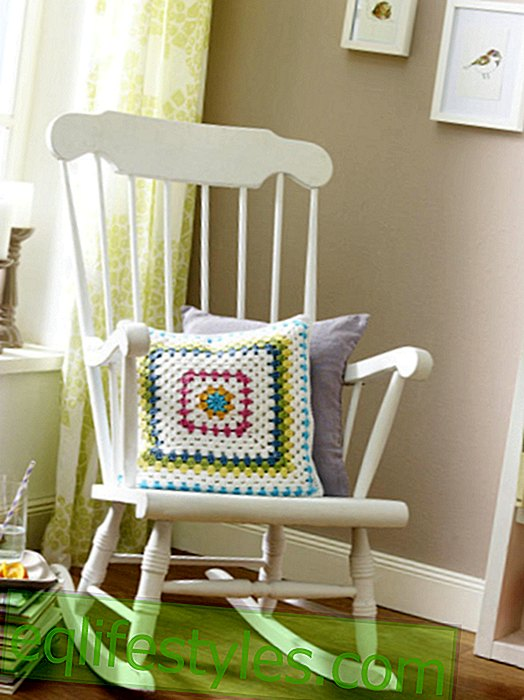 DIY tip: Crochet a pillowcase