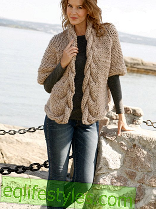 Knitting pattern for a jacket