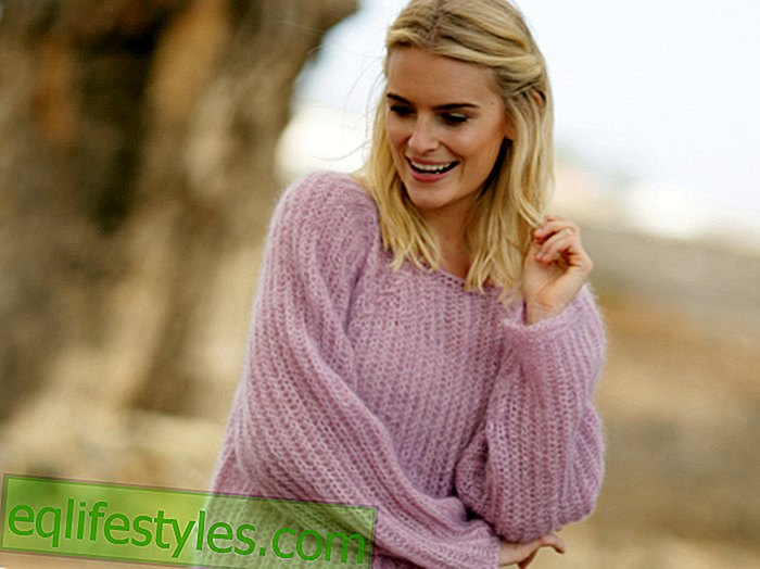 Fashion: Instructions for knitting an oversize sweater: This guide works