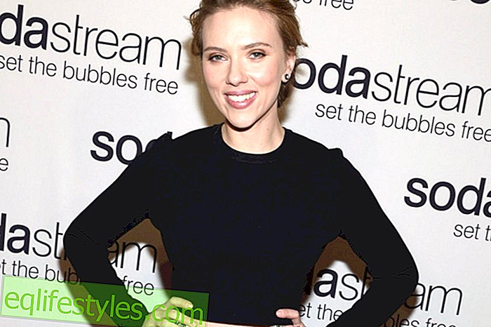 Scarlett Johansson: Décolleté in lace form