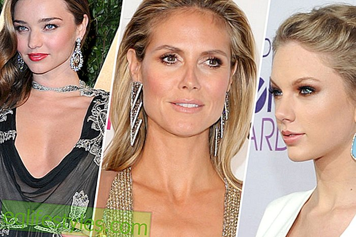 Fashion - Statement Earrings: Stars love the new trend jewelry