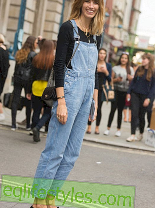 Trend comeback for the dungarees