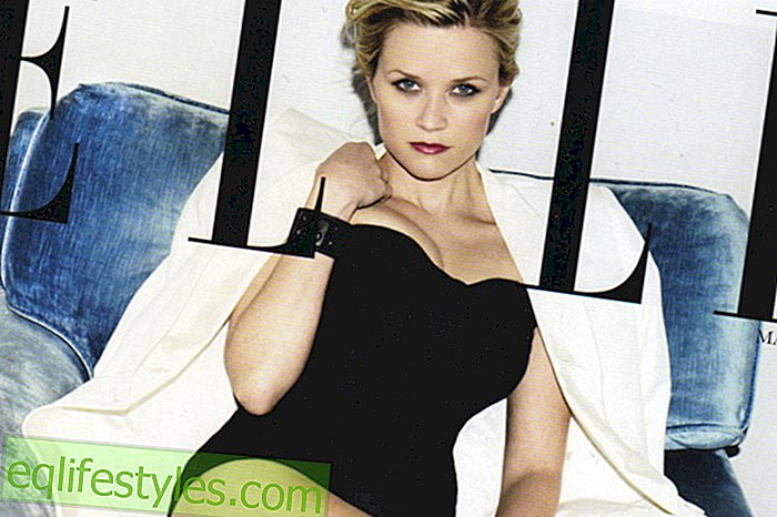 mode - Reese Witherspoon in een badpak