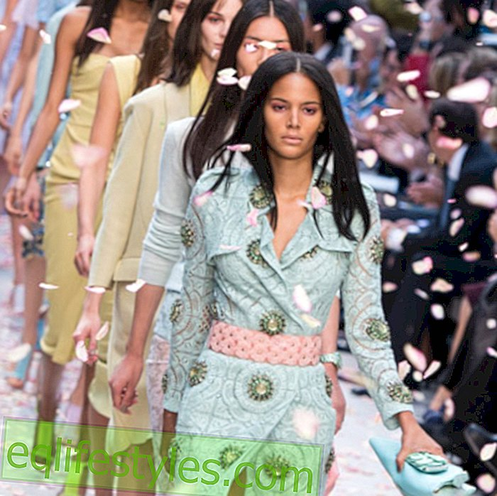 Sommermodemode 2014: Trends of the London Fashion Week