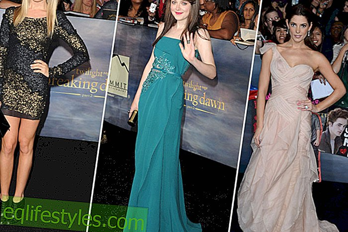 "Dreamlike evening dresses at the ""Twilight"" premiere"