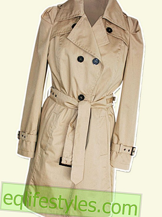 How do I wear a trench coat?