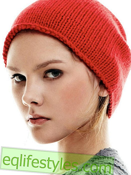 Knit beanie hat - simple guide