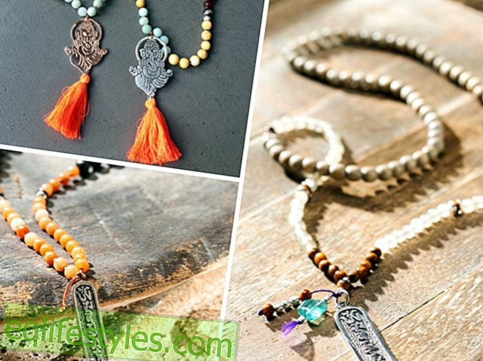 Fashion - Jewelry as an accessoryMala necklace - prayer medium, fashion accessory and good luck charm in one