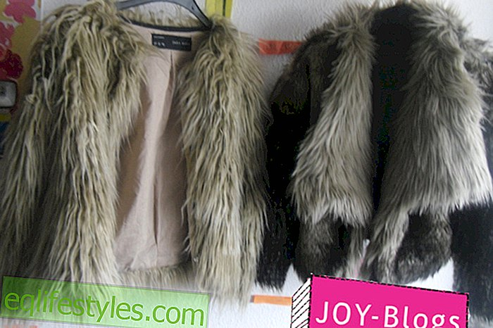The slightly different fur jacket