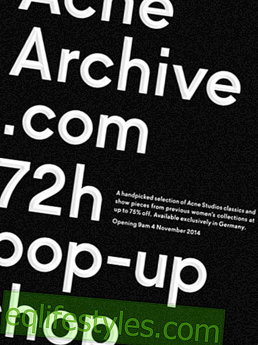moda: 72h Pop Up Shop: Akne-Archive.com Prodaja u Njemačkoj