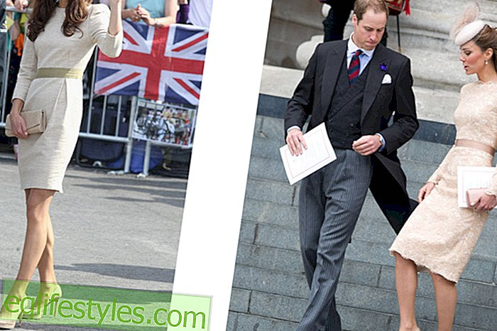 moda - Kate Middleton ama le sue pompe in Nude