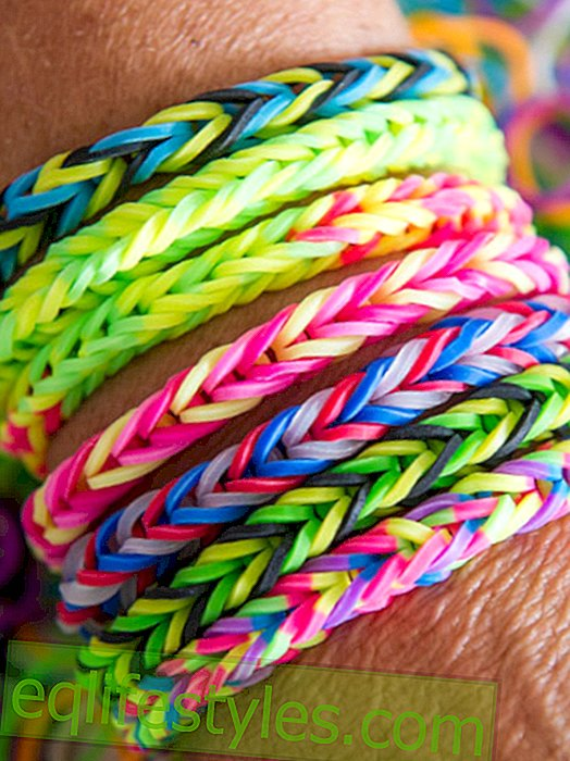 Weaving Rainbow Loom Bands - with instructions