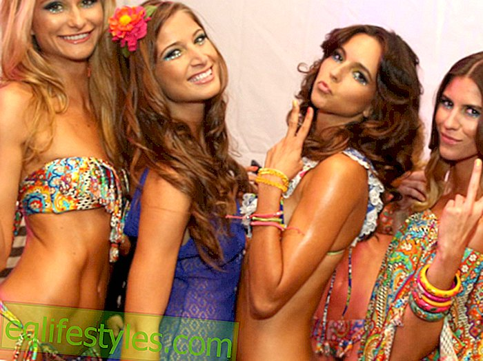 The bikini trends for the summer of 2014