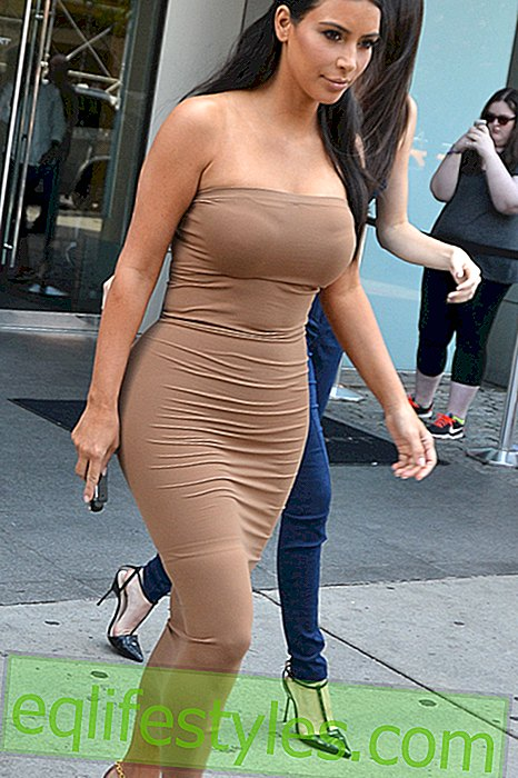 mode - Kim Kardashian et son accident de shapewear