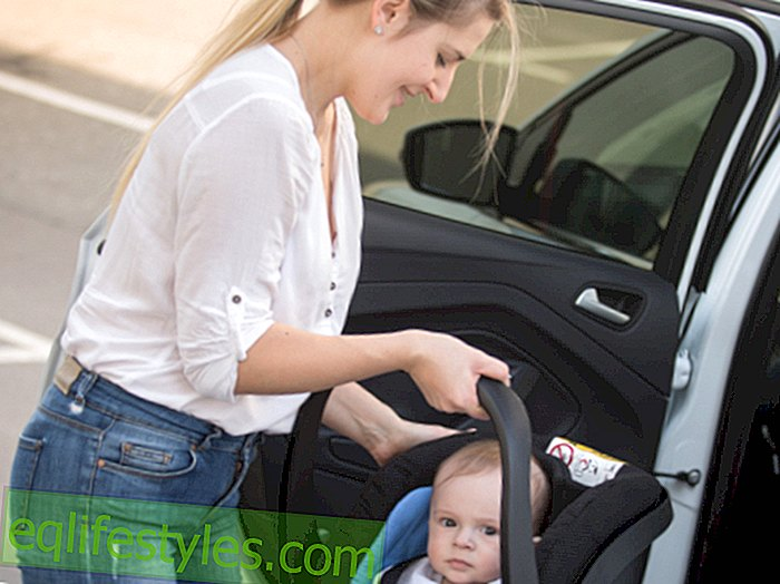 MothersThus you carry a baby carrier without burdening your back