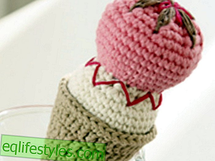 live - Crochet PatternCrochet ice cream with ice cream cone