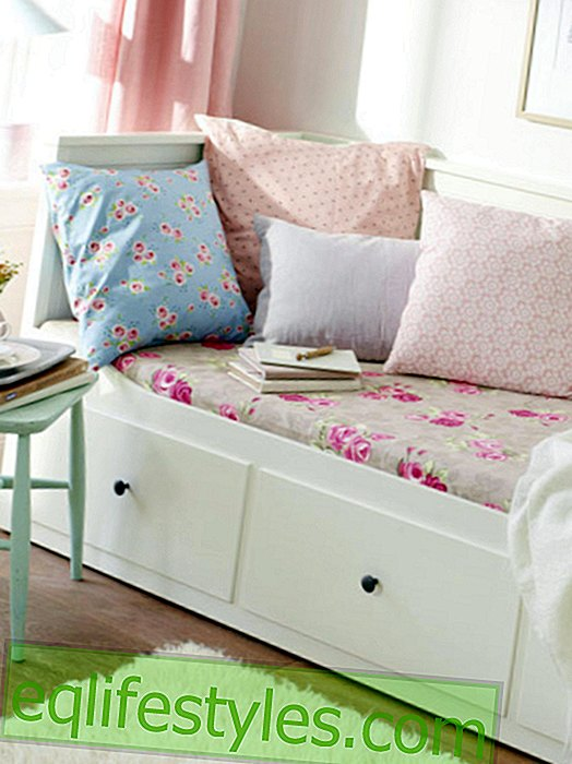 Fantastic: 4 DIY ideas with romantic floral prints