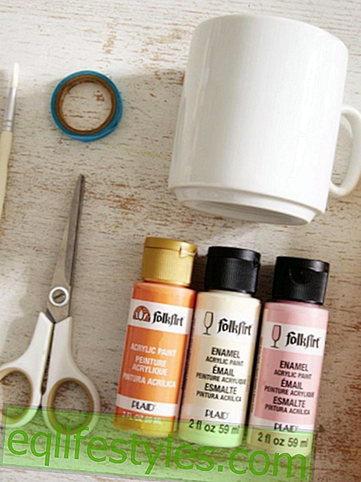 Боядисване на порцелан: Това е толкова лесно