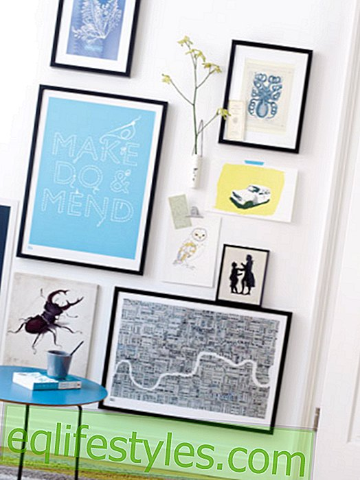 Wall design: 4 wall ideas in blue