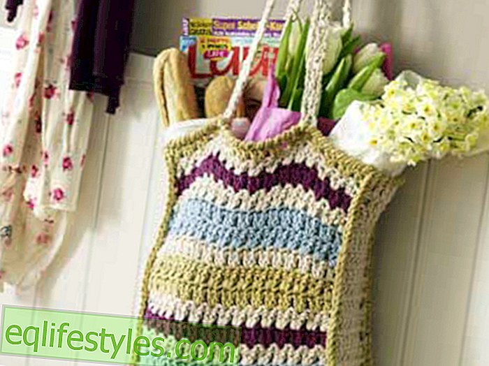 Crochet Tutorial: How to crochet a bag