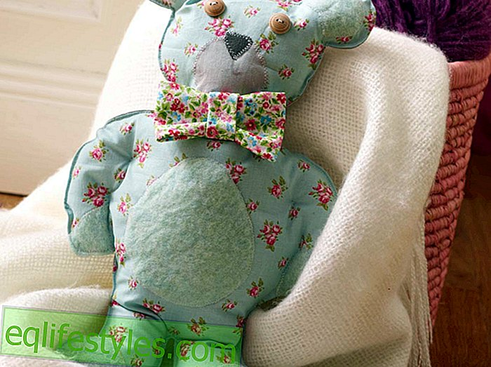 For large and small N  hanleitung for a teddy bear