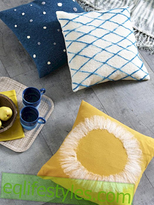 live - DIY tip: Pillow felt