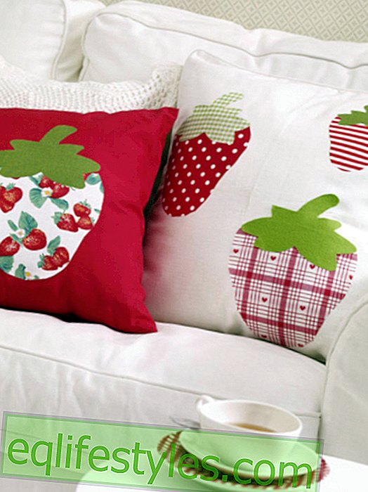 live: Simply make strawberry pillows yourself