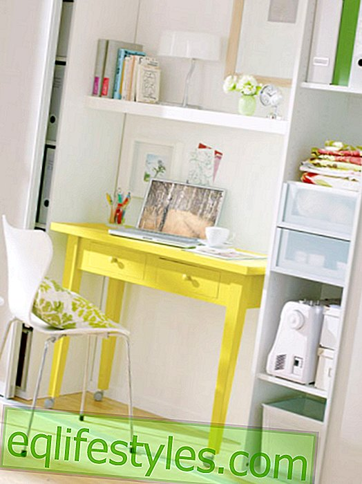 live - Color ideas: a good mood in the home office
