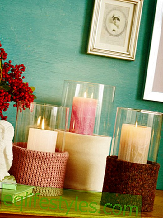 Cozy decoration ideas with candles