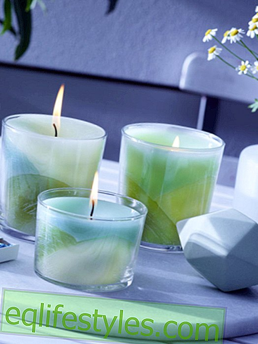 Candles with gradient: Get creative!